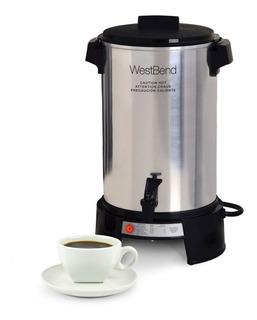 Cafetera Percoladora 36 Tazas Aluminio West Bend 43536