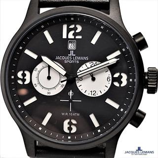 Reloj Jacques Lemans Original Swiss Crono Prof. Wr. 100 Mt
