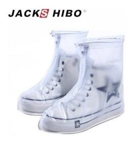 Cubre Zapato Protector De Lluvia , Antiderrapante 12 Pares