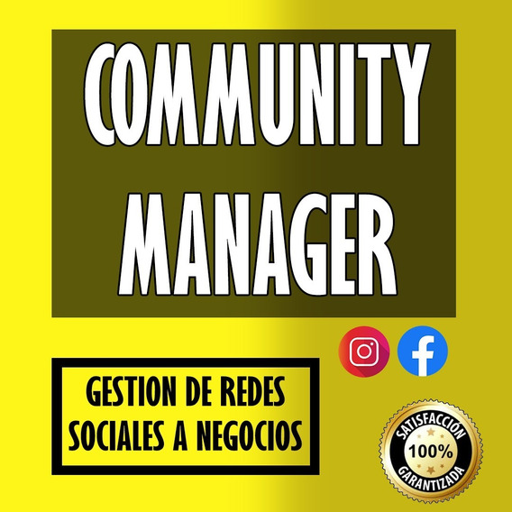 Community Manager Profesional - Plan Gold - Marketing