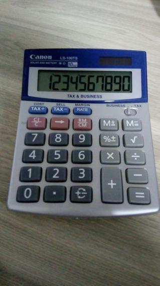 Calculadora Canon Solar Ls 100 Ts