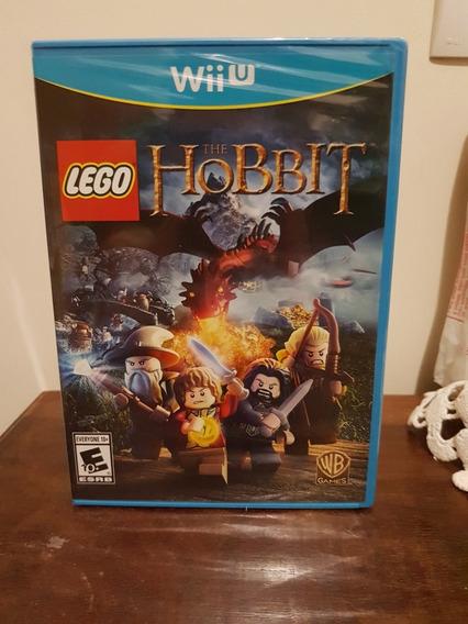 Lego The Hobbit Nintendo Wii U Novo Lacrado Midia Fisica