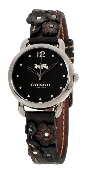 Relógio Feminino Coach 14502816 Pulseira De Couro