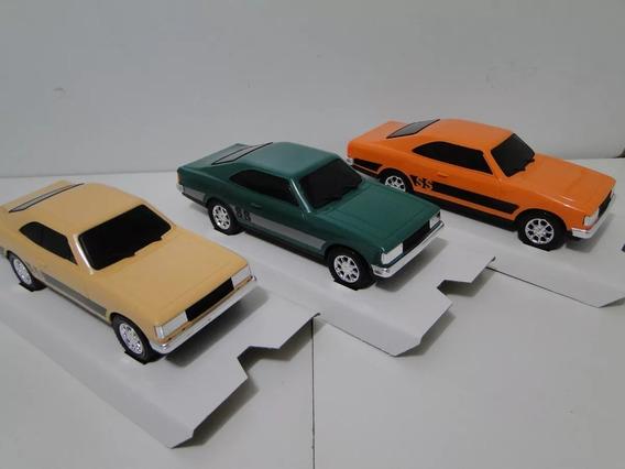 Kit Treis Opala Miniatura De 25cm Esc 1/24 Material Plastico