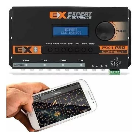 Crossover Processador Equalizado Expert Px1 Connect Bluetoot