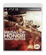 Jogo Medal Of Honor Warfighter - Ps3 Mídia Física Usado
