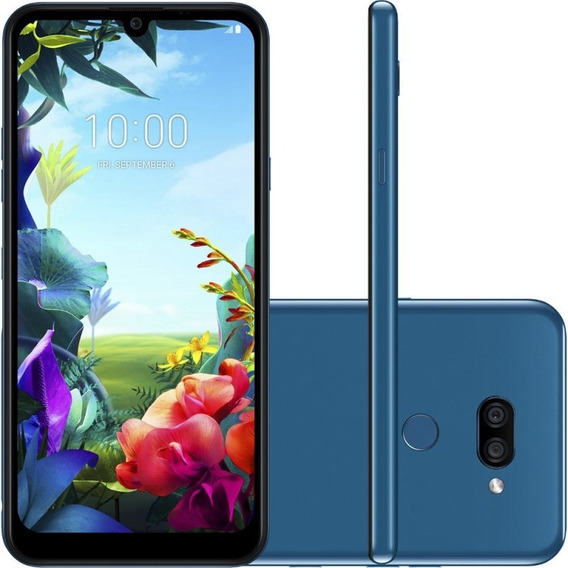 Celular LG K40s Azul 32gb 3gb De Ram Tela De 6,1 Octa Core C