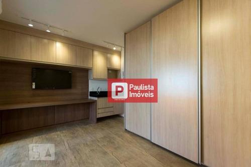 Studio Com 1 Dormitório, 43 M² - Venda Por R$ 510.000,01 Ou Aluguel Por R$ 2.600,00/mês - Vila Mariana - São Paulo/sp - St0274