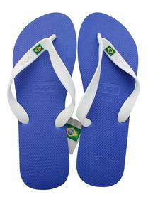 Sandalias Hombre Brasileñas Playa Dupe 3296 Azul Naval