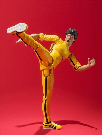 Bruce Lee Figura De Ação 14 Cm Pvc S.h.figuarts Bandai Jp219