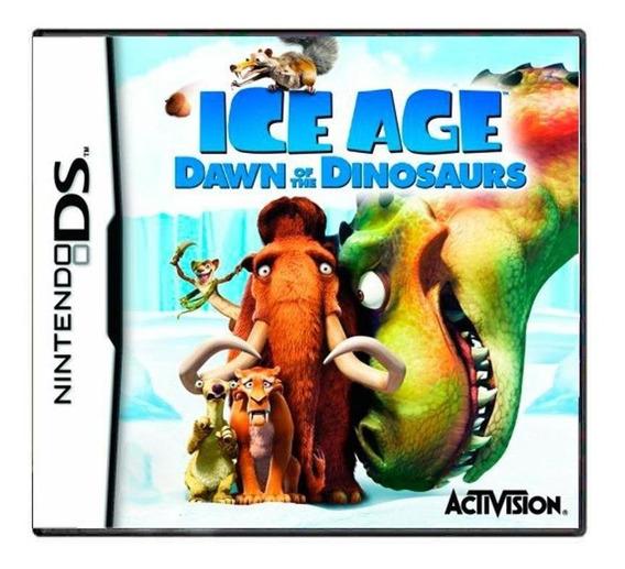 Ice Age Dawn Of The Dinosaurs Ds Mídia Física Pronta Entrega