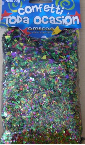 Confeti Picado Metálico 10 Paq. Cañón Fiesta Invitacion