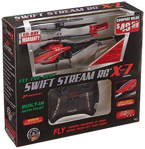 Helicóptero Swift Stream X-7, Rojo