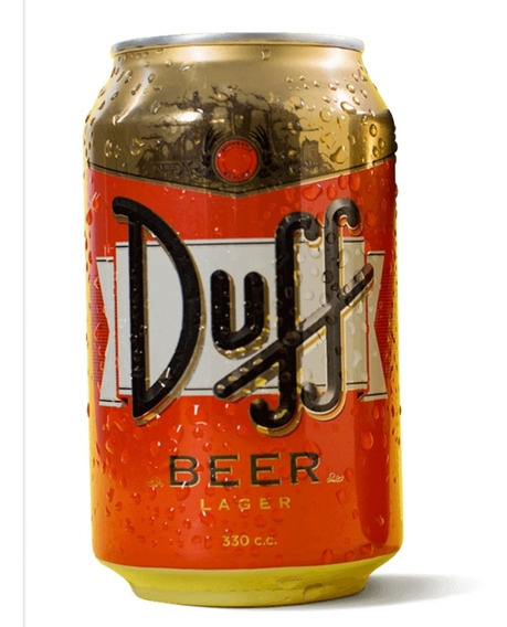 Cerveza Duff Lata 330cc The Simpsons Mercado Envíos Original