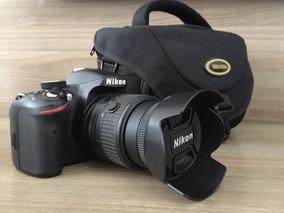 Câmera Nikon D3200 Profissional + Controle E Acessórios