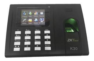 Zkteco Lector Biometrico K-30 Control Asistencia Ssr Bateria