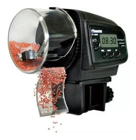 Alimentador Automático Dosador Comida Peixes Aquario