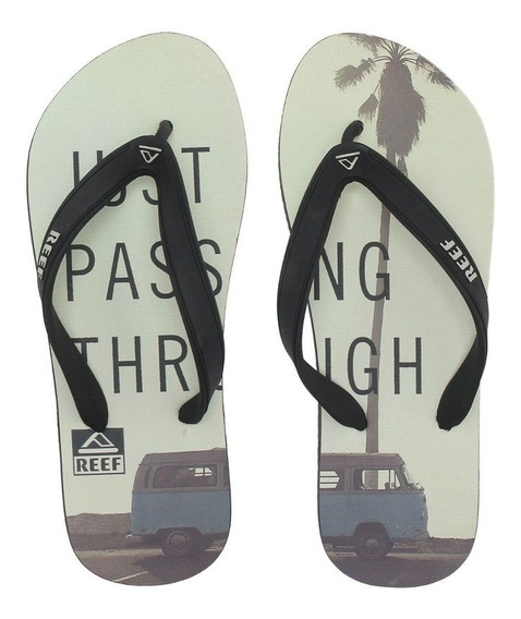 Chinelo Switchfoot Cruizen Branco Ultra Resistente Reef
