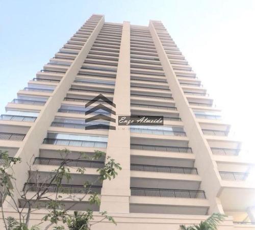 Apartamento Para Venda Em São Paulo, Tatuapé, 4 Dormitórios, 2 Suítes, 3 Vagas - 0345_1-1291774