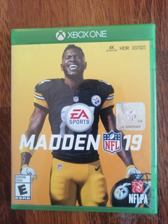 Juego Madden Nfl 19 Xbox One Usado Como Nuevo