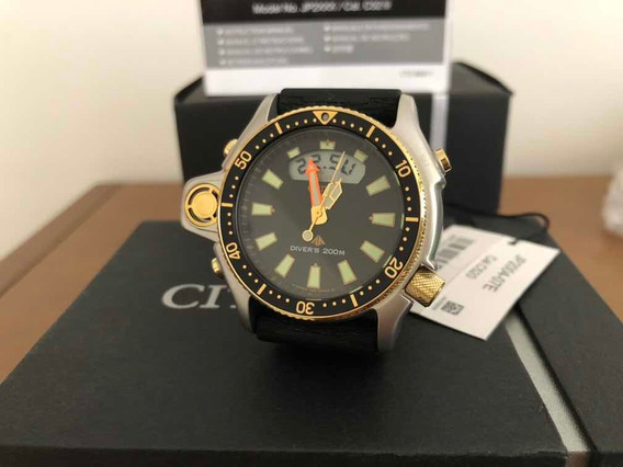Relógio Citizen Promaster Aqualand Jp20004-07e Zero Na Caixa