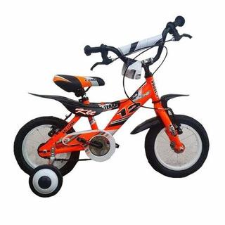 Bicicleta Nene X-terra Klt Rodado 12 Rojo - Racer Bikes