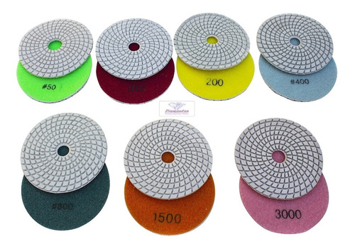 Lixas Diamantadas Pisos Concreto Mármores Granitos Vidros