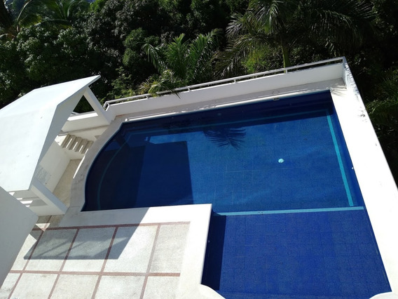 Depa Vista Al Mar, 2 Rec, Alberca, Familia, Pet Friendly.
