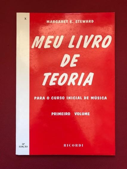 Livro - Meu Livro De Teoria - Primeiro Volume - Seminovo