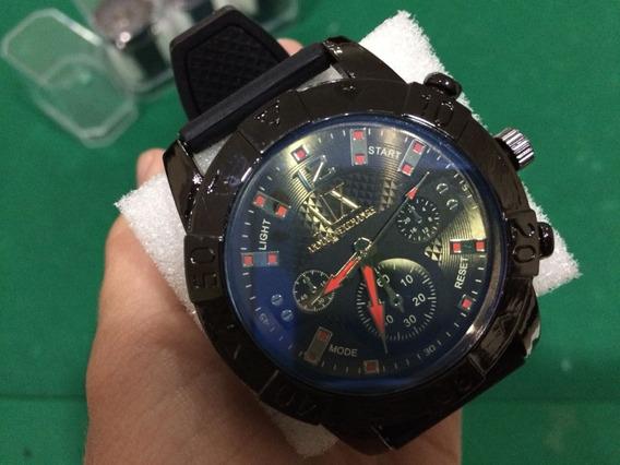 Relógio Multi Marcas Pulseira Silicone Em Estoque