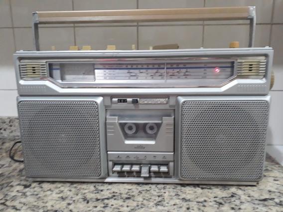 Polyvox Rg 800 Radio Gravador Stereo Func Ok Som Alto Forte