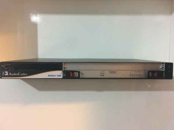Audiocodes Mediant 2000 4span/ip/2ac/sip Ggwt00052