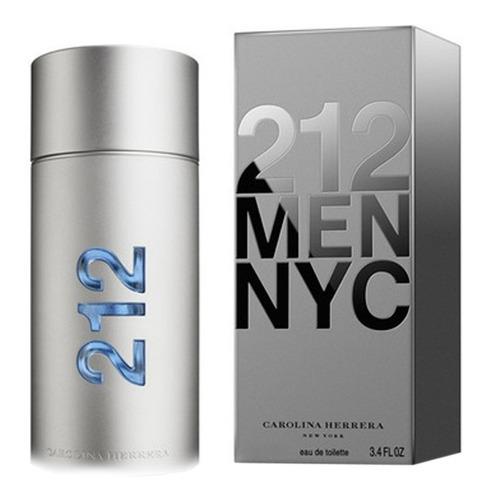 Imagen 1 de 6 de Perfume Importado 212 Men Carolina Herrera Edt 200 Ml Promo