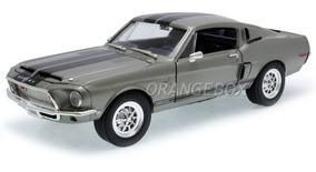 Shelby Gt-500kr 1968 1:18 Yat Ming 92168-cinza