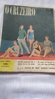O Cruzeiro Nº 146 De 21 Junho De 1958 Miss Distrito Federal
