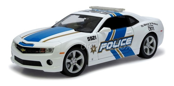 Chevrolet Camaro Ss Rs 2010 Police 1:18 Maisto 31161