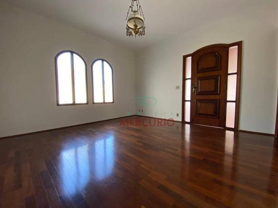 Casa Com 3 Dormitórios À Venda, 190 M² Por R$ 497.000 - Jardim Panorama - Bauru/sp - Ca3298