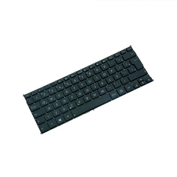 Teclado Para Notebook Asus Vivobook X202e Preto Br Com Ç