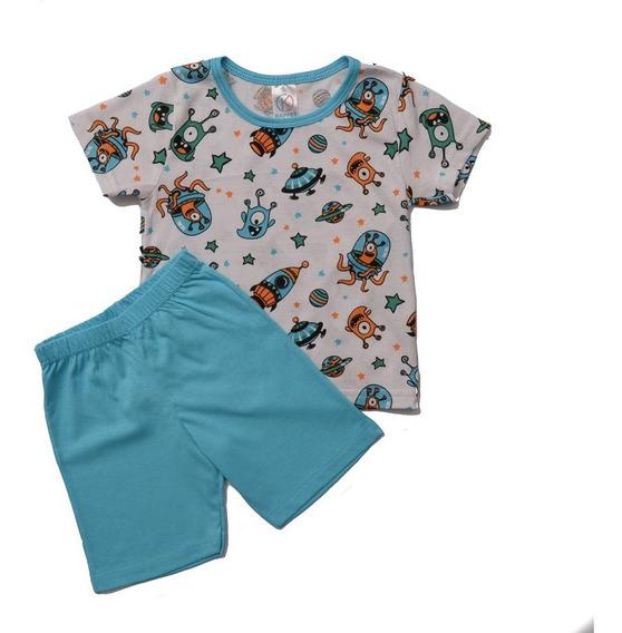 2 Pijama Infantil Verão Menino Menina 1 Ao 8 Atacado Revenda