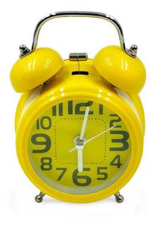 Reloj Despertador Camapanas Excelente Calidad !!!!! Deco