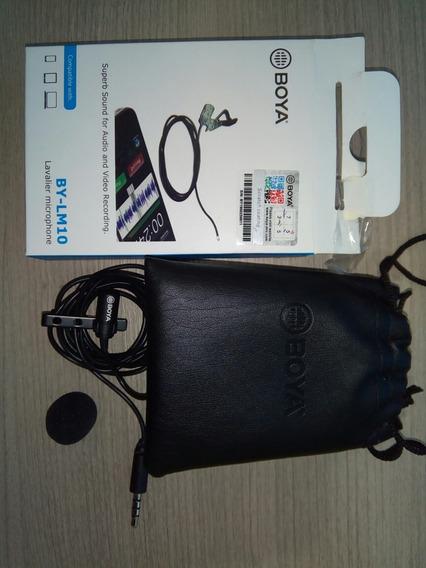 Microfone Boya By-lm10 Usado