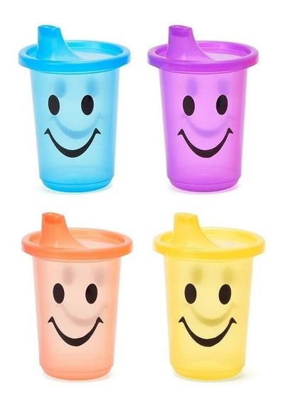 Vaso Infantil Tapa Souvenirs Escolar Pico Smile Cumpleaños