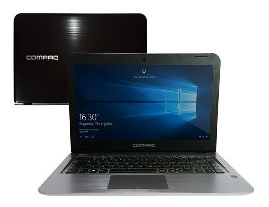 Notebook Compaq Presario Cq17 W10 4gb 500gb