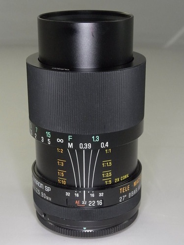 Até Dia 20 Macro Tamron Sp 90mm F2.5 52b Canon M42