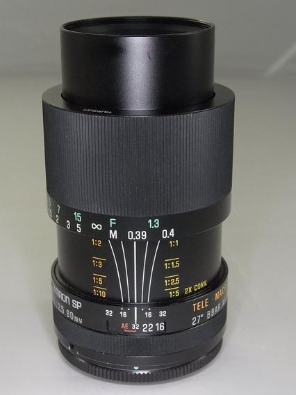 Macro Tamron Sp 90mm F2.5 52b Adaptall Canon Nikon M42