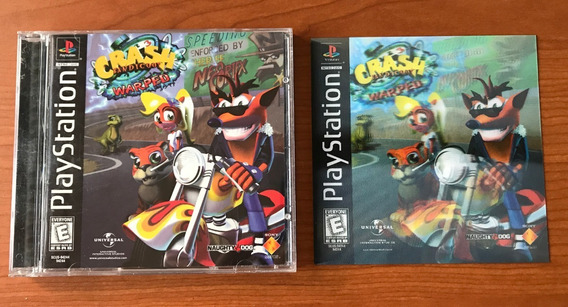 Crash Bandicoot 3: Warped - Playstation 1- Label Holográfica