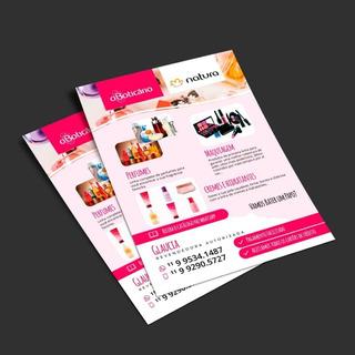 Panfleto 10x15cm 1000un/frete Free+arte/frente E Verso Color