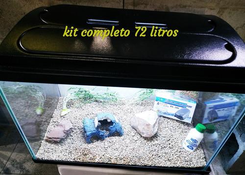 Kit Pecera Completa. 72 Litros. Envios Gratis Ver Detalle