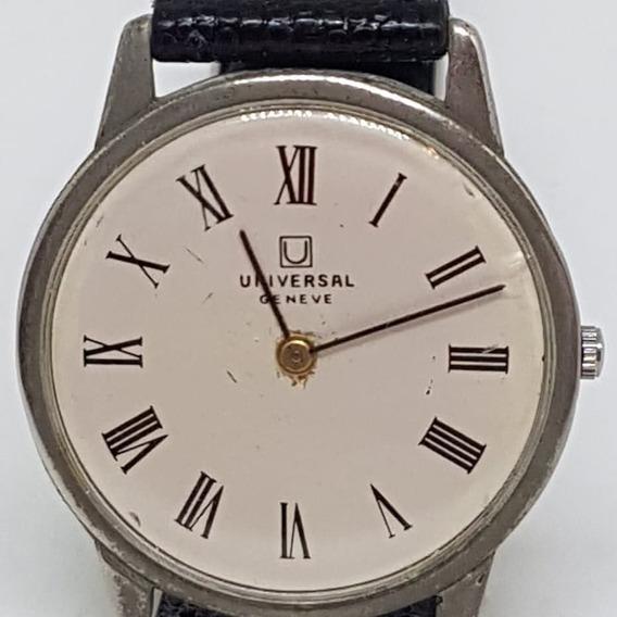 Relogio Vintage De Pulso Universal Geneve 542101 Diametro 30