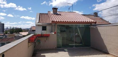 Cobertura Com 2 Dormitórios À Venda, 154 M² Por R$ 445.000,00 - Vila Pires - Santo André/sp - Co5392